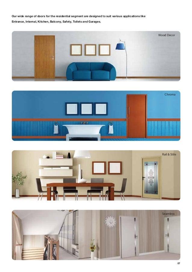 Residential door-catalogue active green window solution