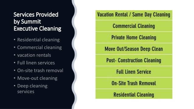 Residential Cleaning Services Near You in Summit County Slide 2