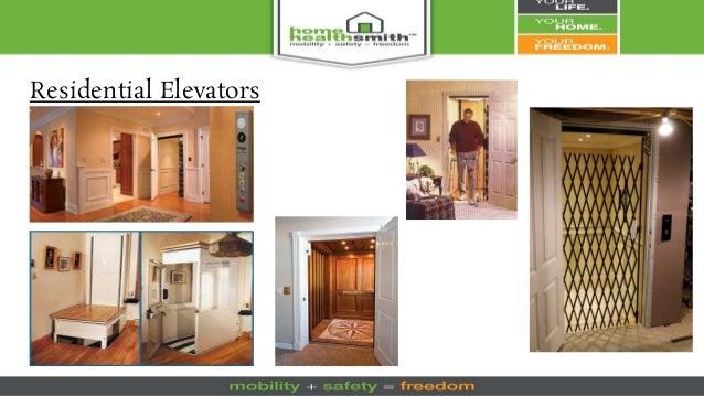 Residential Elevators; 71.