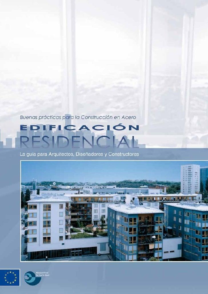 Buenas Practicas para la Construccionen Acero - Edificación Residencial