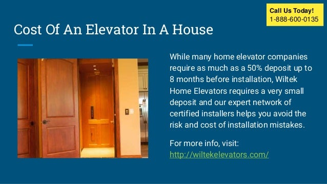 Residential Home Elevators