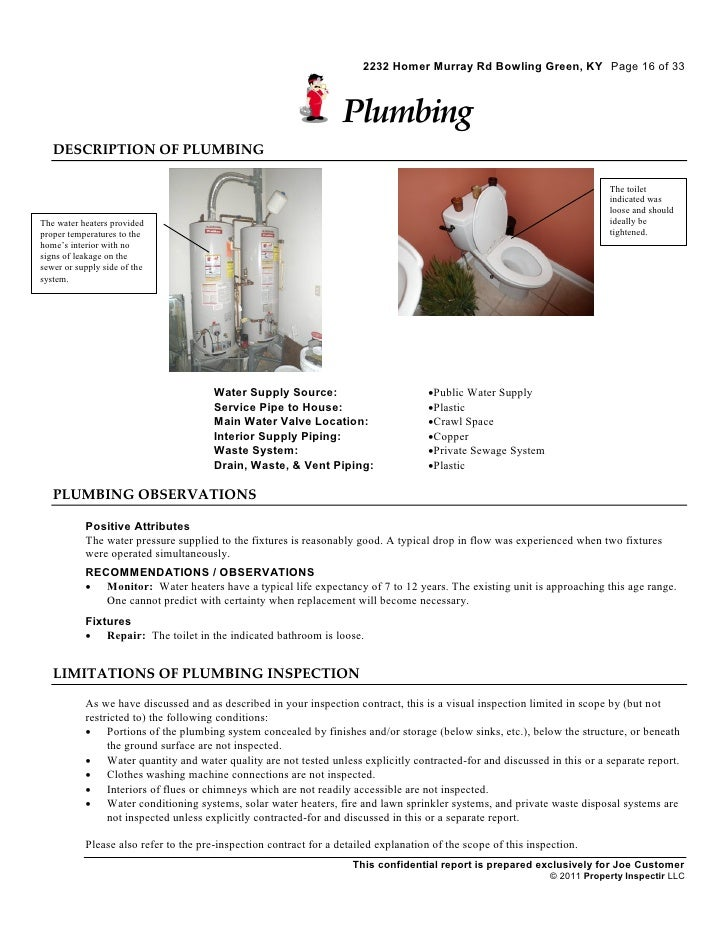 residential home inspection sample report. Black Bedroom Furniture Sets. Home Design Ideas