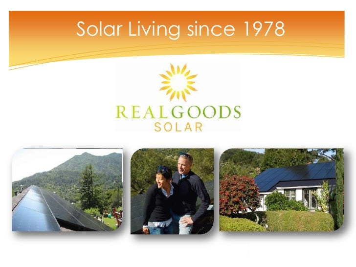 Solar Living since 1978<br />