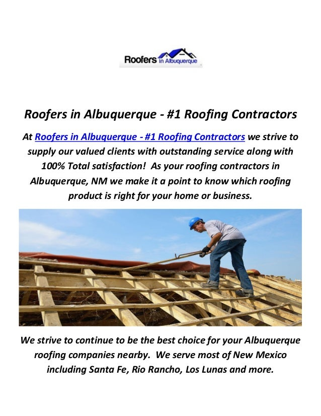 Roofers in Albuquerque - #1 Roofing Contractors At Roofers in Albuquerque - #1 Roofing Contractors we strive to supply our...