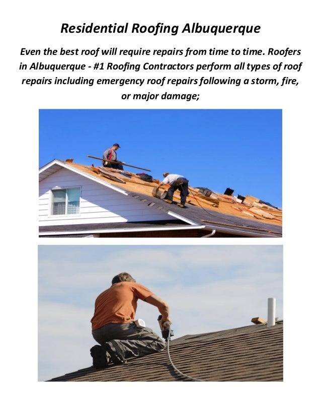 2. Residential Roofing Albuquerque Even the best ...  sc 1 st  SlideShare & Residential Roofing in Albuquerque NM memphite.com