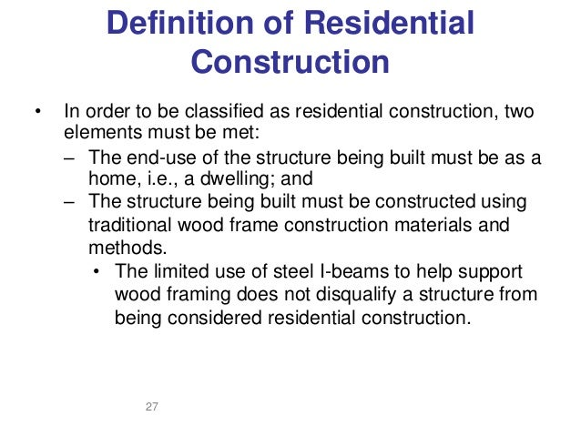 residential construction framing residential safety 2017