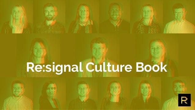 Re:signal Culture Book