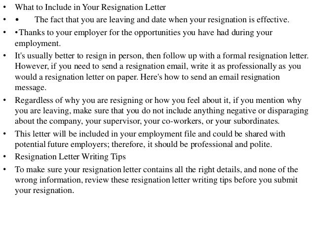 writing a leaving letter to your manager has asked
