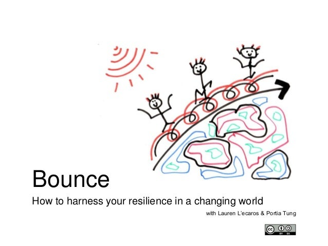 Bounce How to harness your resilience in a changing world with Lauren L'ecaros & Portia Tung