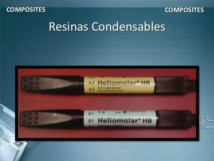 COMPOSITES                      COMPOSITES             Resinas Condensables