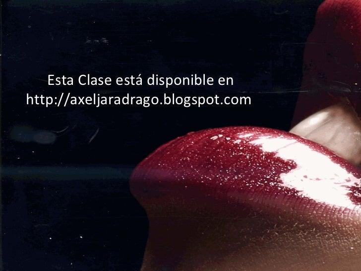 Esta Clase está disponible en http://axeljaradrago.blogspot.com