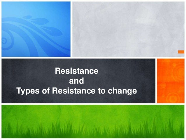 resistance to change can be successfully Recognizing resistance to change early will go a long way to ensuring  that  disruption successful while stewarding donor dollars effectively.