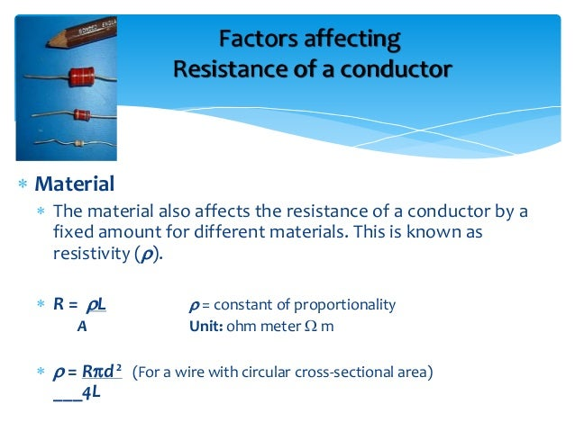 investigate factors affecting resistance wire How to set up a circuit with an ammetre and voltmetre to measure the resistance of a wire mentions different thicknesses factors affecting resistance.