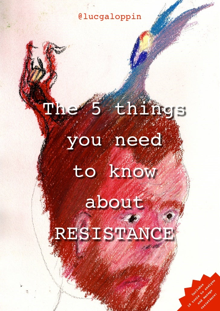 @lucgaloppin         The 5 things       you need       to know        about      RESISTANCE                               ...