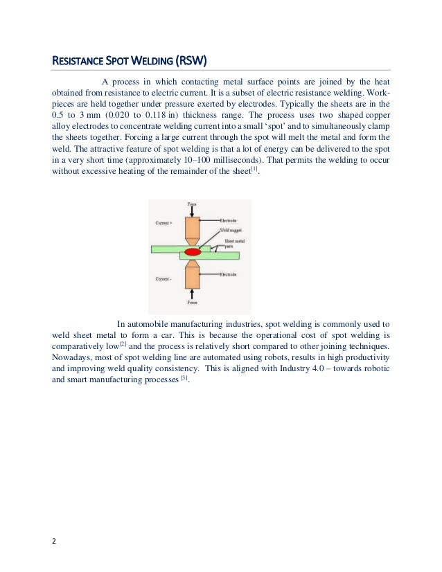 Spot welding basic parameters setting  - basic calculations / equatio…