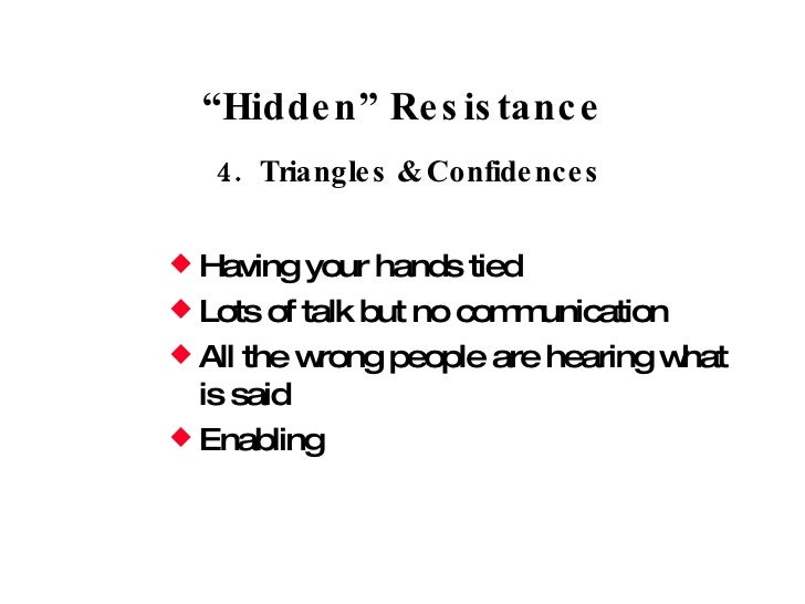 """client resistance and you Success stories with challenging clients by lynne shallcross october 10, 2010 """"i don't have to talk with you """"with all forms of resistance and challenge."""