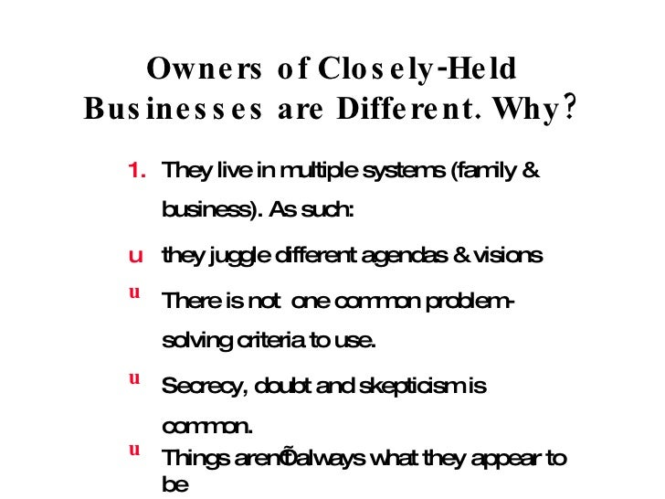 Resistance to advice with family business clients