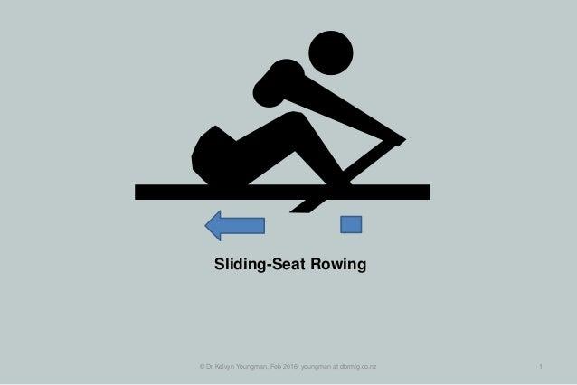 © Dr Kelvyn Youngman, Feb 2016 youngman at dbrmfg.co.nz 1 Sliding-Seat Rowing