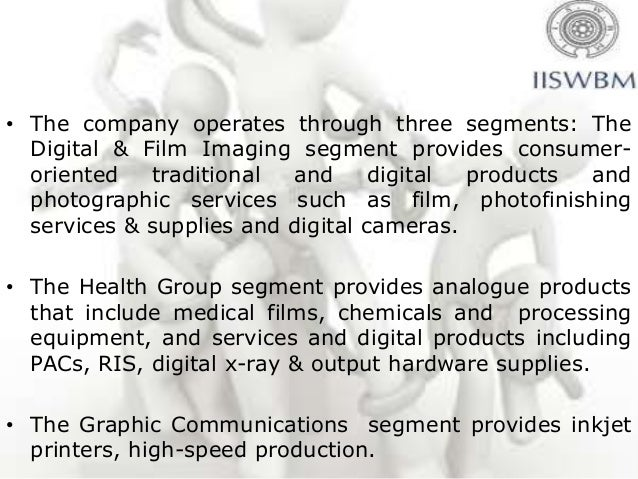 • The company operates through three segments: The  Digital & Film Imaging segment provides consumer-  oriented   traditio...