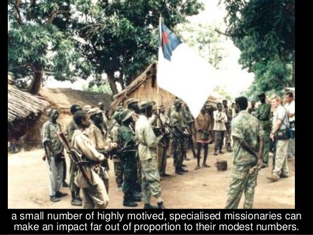 The Successful Campaign for the Secession of South Sudan For example, in Sudan, Frontline Fellowship trained the first Cha...