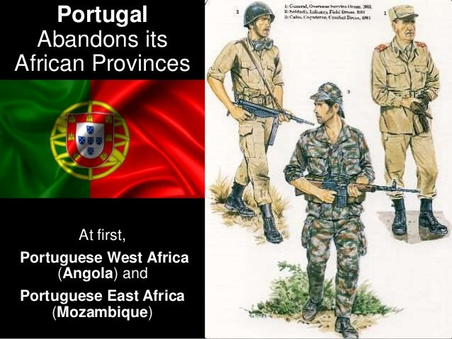 But after the Revolution in Portugal of 1974,
