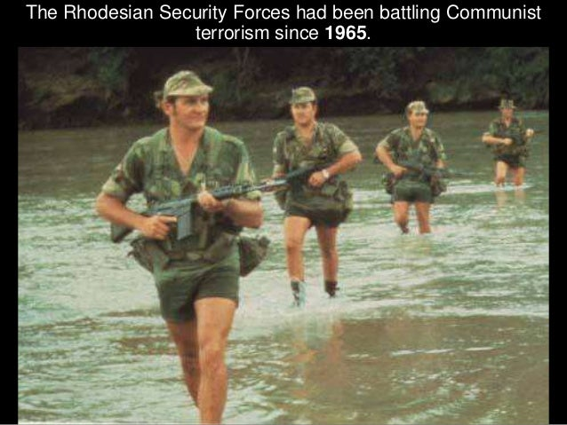 Initially the terrorists only base of operations for attacking Rhodesia had been from Zambia to the North of the Zambezi R...