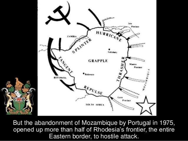 now the insurgency grew exponentially and the Rhodesians were hard pressed to beat back the far more numerous