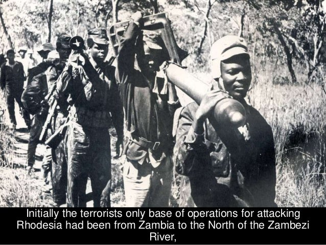 and, in many ways, better supplied, ZANU-PF and ZAPU Communist Revolutionaries.