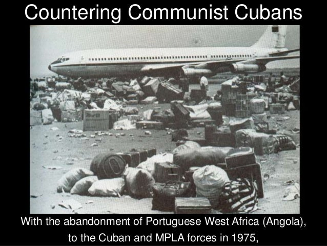 They could see the Cubans evacuating, loading their tanks and trucks onto their ships to sail back across the Atlantic to ...