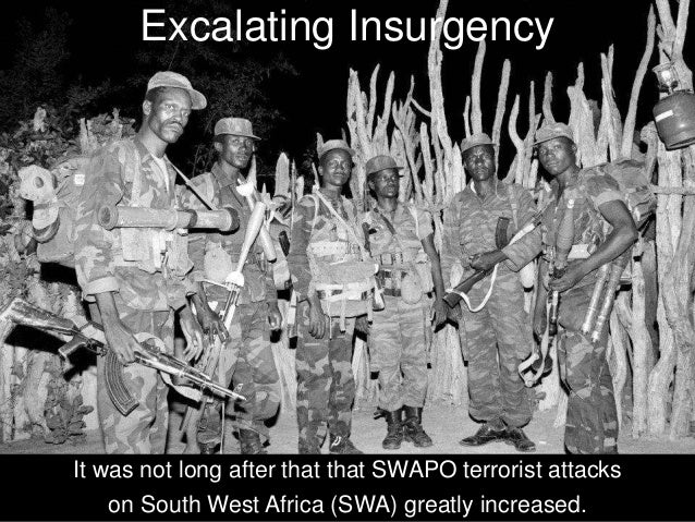 The Best Form of Defence is Attack Therefore, South Africa began to launch cross border raids, pre-emptive strikes,