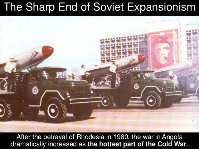 and the Soviet Union poured multiplied Billions of Dollars of their best weaponry into Angola.