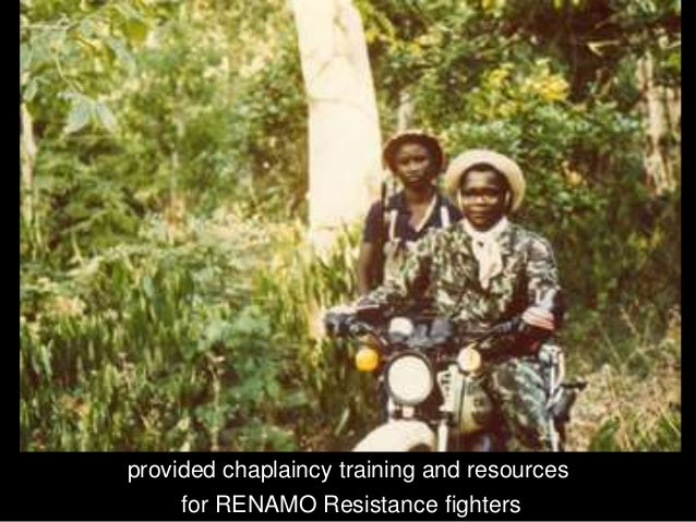 I testified on many radio and TV programmes throughout the USA and Europe against the communist FRELIMO dictatorship of Mo...
