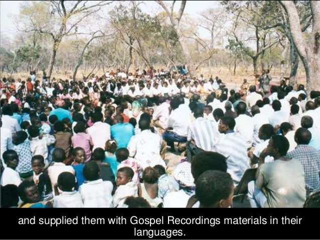 Reformation in Zambia In Zambia, we conducted Biblical Worldview Seminars and God and Government Seminars,