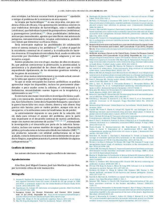 J.-I. Alós / Enferm Infecc Microbiol Clin. 2015;33(10):692–699 697 esos serotipos. Las futuras vacunas frente al gonococo1...