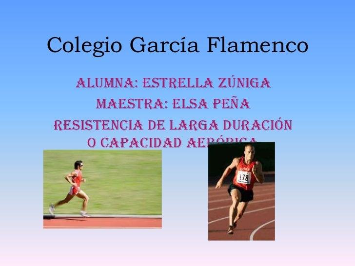 Colegio García Flamenco<br />Alumna: Estrella Zúniga<br />Maestra: Elsa Peña<br />Resistencia de Larga duración o capacida...