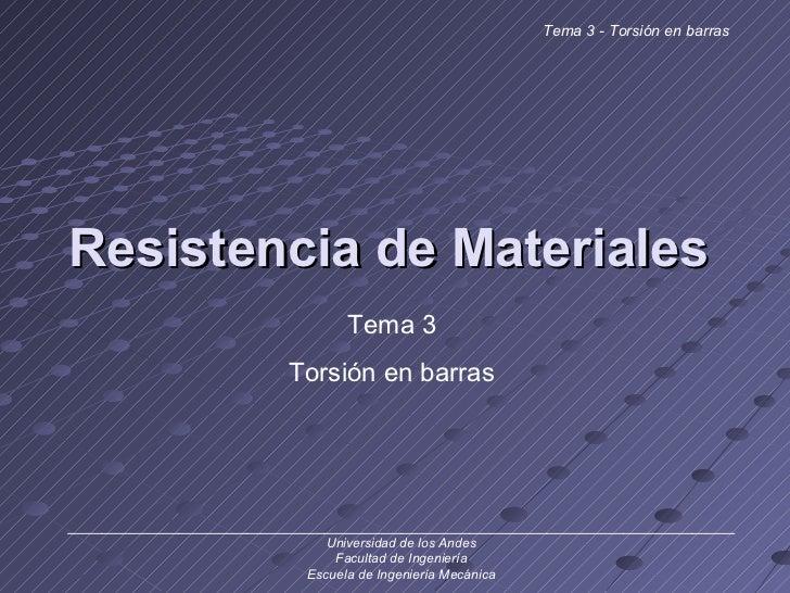 Resistencia de Materiales ______________________________________________________________________________ Universidad de lo...