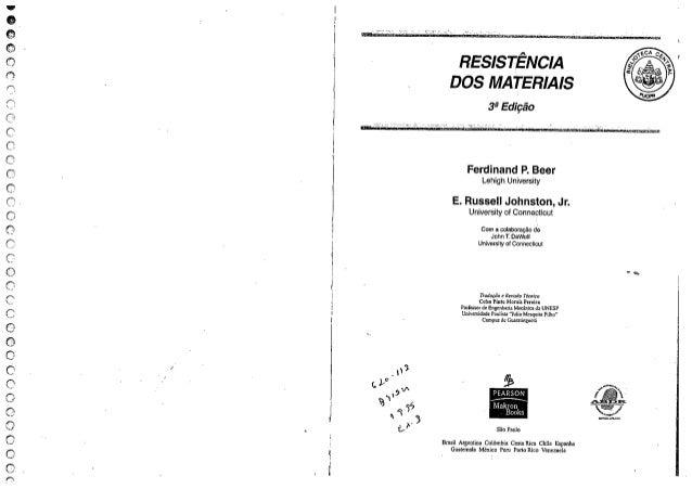 Resistencia dos materiais 3°ed