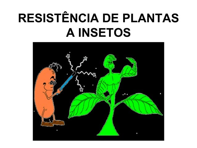 RESISTÊNCIA DE PLANTAS A INSETOS