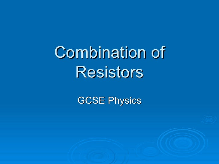 gcse physics coursework resistance wire conclusion Introduction this investigation determines how changing the length of nickel- chrome (nichrome) wires, when passing an electrical current through them,  affects.