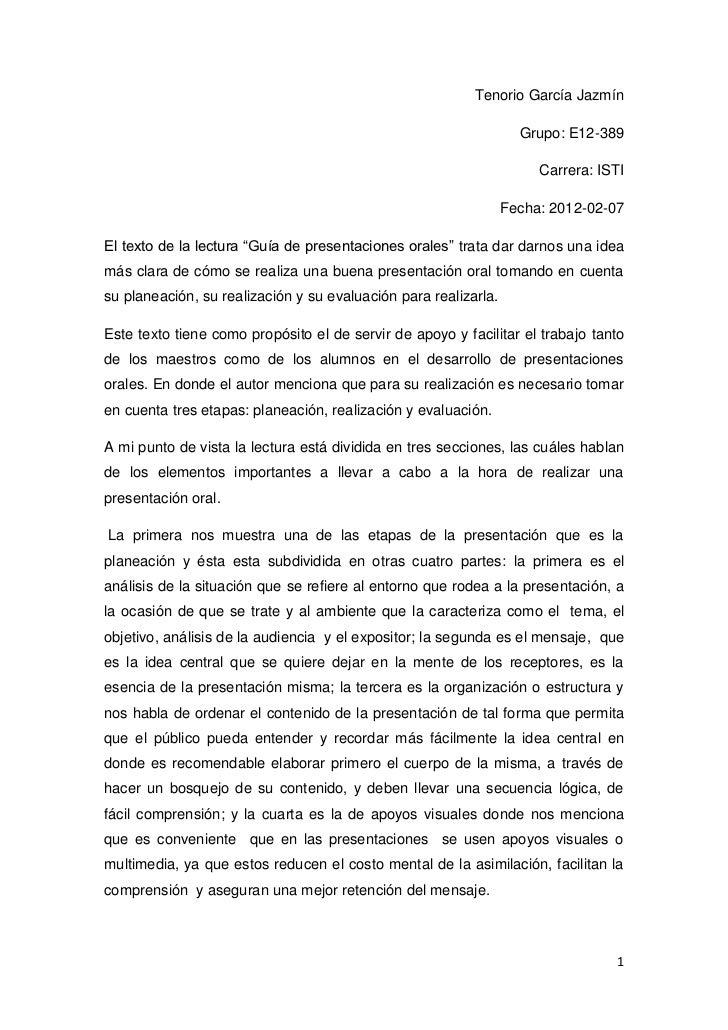 Tenorio García Jazmín                                                                   Grupo: E12-389                    ...