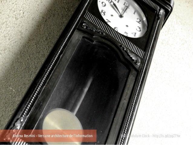 Andrea Resmini – Vers une architecture de linformation   Old Pendulum Clock – http://is.gd/pgZ7Yw