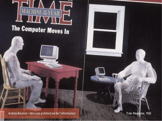 Andrea Resmini – Vers une architecture de linformation   Time Magazine, 1983
