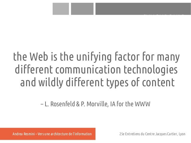 SYNCHRONICthe Web is the unifying factor for many different communication technologies  and wildly different types of cont...
