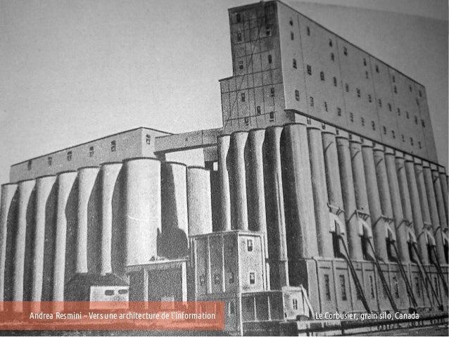 Andrea Resmini – Vers une architecture de linformation   25e Entretiens du Centre Jacques Cartier, Lyon                   ...
