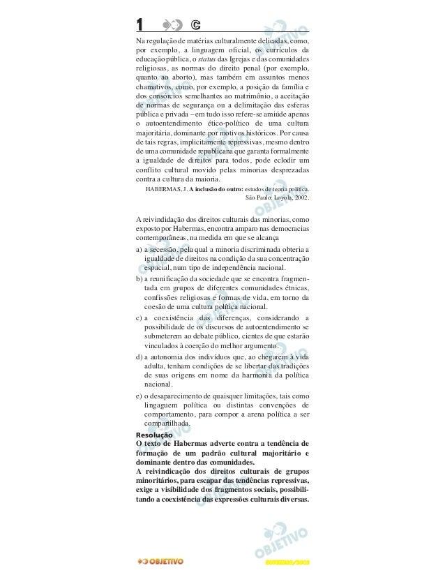 1                   CNa regulação de matérias culturalmente delicadas, como,por exemplo, a linguagem oficial, os currículo...