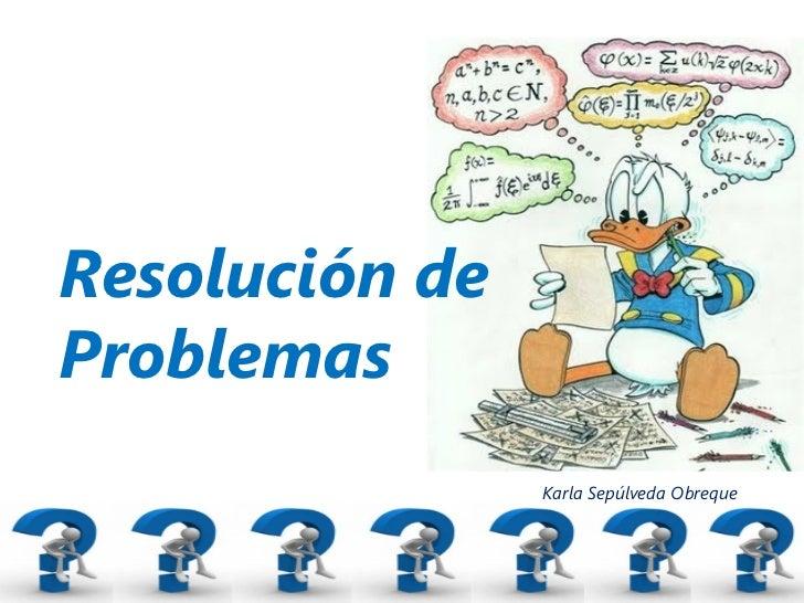 Resultado de imagen de resolucion de problemas