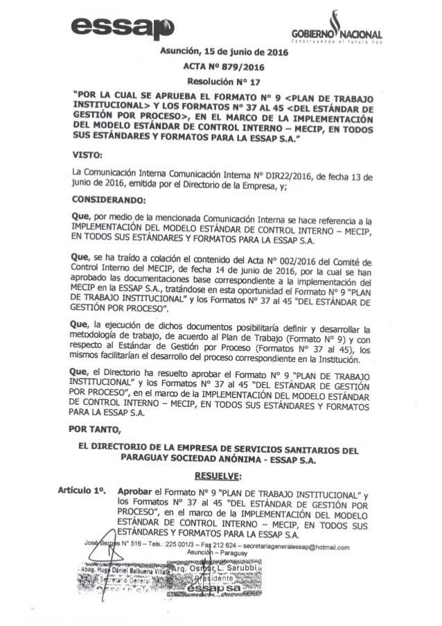 Resolución nro17