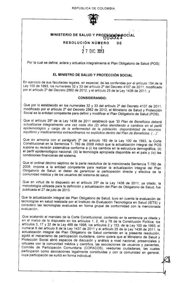 Resolucion 5521 de 27 dic de 2013   actualizacion del pos (1)