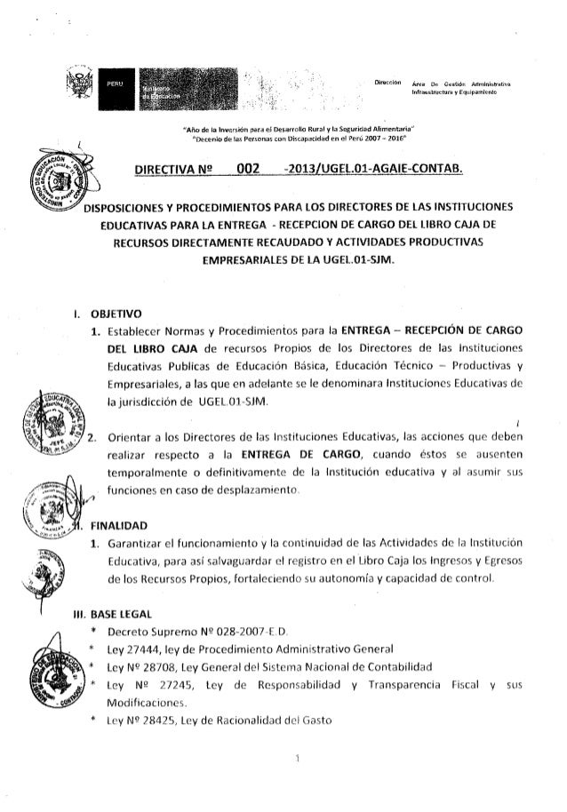 Resolucion directoral 0619 Slide 2