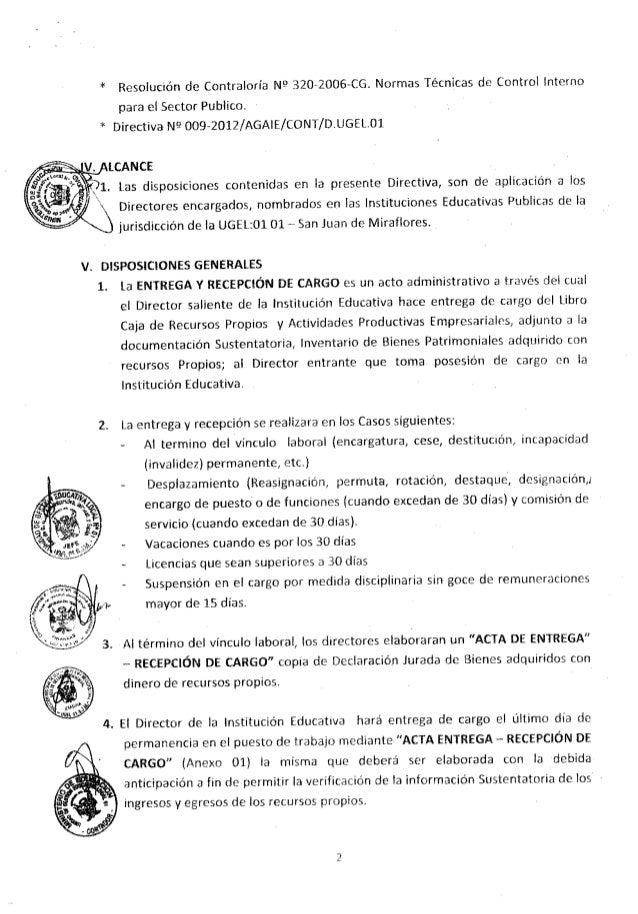 Resolucion directoral 0619 Slide 3